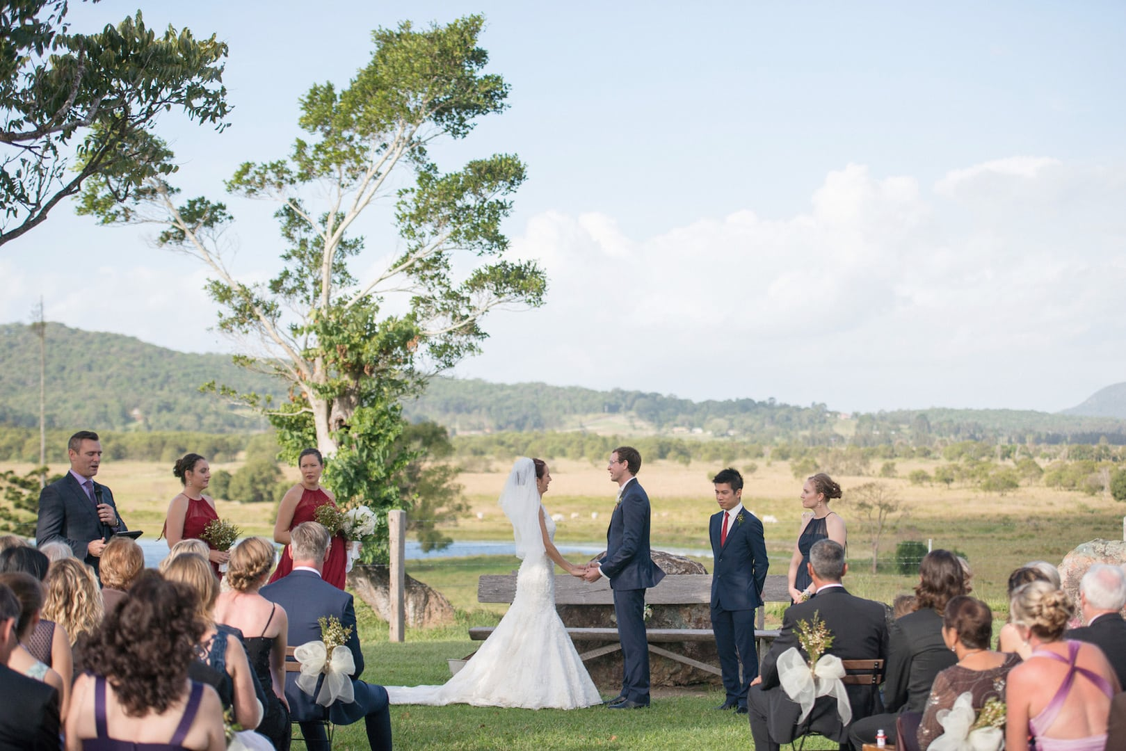 country wedding venue sunshine coast | Yandina Station Weddings - Stradbroke Island Photography